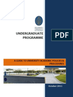 UTP UG Students Handbook Structure C as of Oct 2011 for UG students of Jan '12 Semester