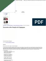 Funções de Linguagem - Exercícios Resolvidos _ Vestibular Cola da Web