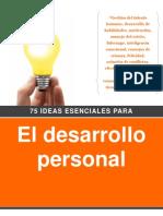 75 Ideas Esenciales Para El Desarrollo Personal PW