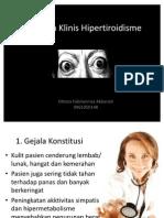 Gejala Klinis Hipertiroidisme