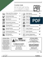La Verne Rec Guide Fall 2008