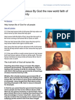 Hubpages.com-The Teaching of Jesus by God the New World Faith of God Jesus Humanity