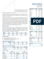 Market Outlook 5th January 2012