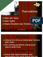 Thermokimia Dan Laju Reaksi