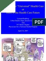 UHC Proposals Training 4-14-07