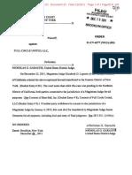 Order NY Magistrate Skee Ball v Full Circle United