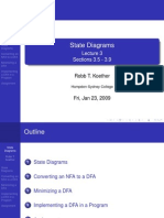 Lecture 3 - State Diagrams