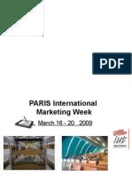 International Week in Paris-2009-2