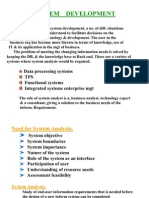 System Analysis and Development module 4