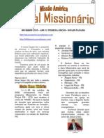 Jonal Missionário Missão América 01
