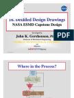 16 Detailed Design Drawings NASA