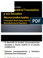 Lesion Cerebral Traumatic A y Sus Secuelas Neuroconductuales
