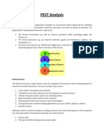 1, PEST Analysis