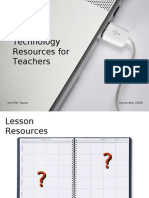 Sauer Electronic Resources for Teachers