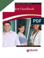 Ashworth College 2011 Handbook
