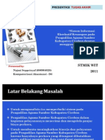 Presentasi Tugas Akhir Diploma 3 (D3) Komputerisasi Akuntansi