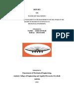 Water Jet Machinig Report - Copy