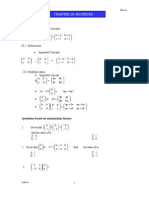 Chapter 20 I Matrices ENRICH