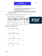 Chapter 3 I Linear Equations ENRICH