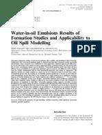 Nước trong dầu Nhũ tương Kết quả nghiên cứu hình thành và áp dụng Mô hình tràn dầu(2)