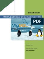 Nota Kursus MySQL Database Dan SQL Manipulation