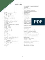 Bütün fizik formülleri