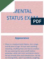 Mental Status Exam Pp