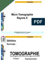 CRT - Tomographie