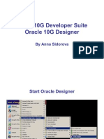 Oracle Intro to Designer