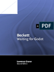 Beckett Waiting for Godot (Landmarks of World Literature (New))