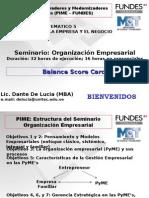 OE-10 Balance Score Card