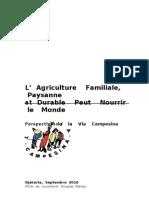 Agriculture Familiale via Campesina-fr