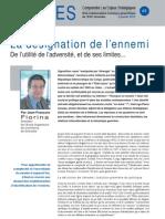 La désignation de l'ennemi - Note d'analyse Géopolitiques n°49