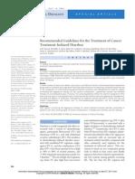 Diarrhea Guidelines ASCO 2004 2918