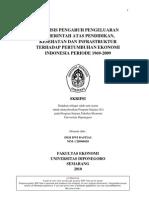 Analisis Pengaruh Pengeluaran Pemerintah Atas Pendidikan Ke