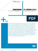 HP ProCurve Switch 2800 Series