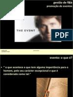 Gestão de F&B - Promoção de Eventos I_A&B