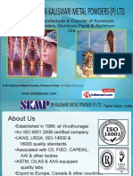 Sri Kaliswari Metal Powders Private Limited Tamil Nadu  india