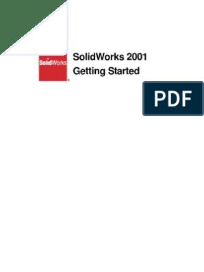 Solid Works Tutorial 2001 | Installation (Computer Programs