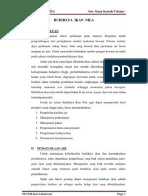 Download 95 Gambar Daur Hidup Ikan Nila HD Terbaru
