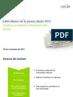 Libro Blanco de la Prensa. Resumen AEDE