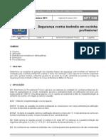 NPT 038-11 - Seguranca Contra Incendio Em Cozinha Profissional