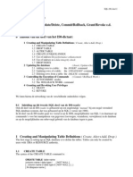 5 SQL86 DDL Data Manipulation Commit Grant