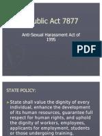 Republic Act 7877