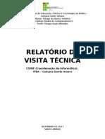 RELATÓRIO TÉCNICO  - THIAGO ROCHA
