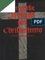 Griese, Prof. Franz - Der große Irrtum des Christentums, erwiesen durch einen Priester, Ludendorffs Verlag, Ludendorff