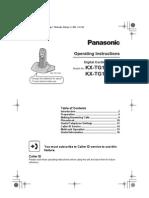 Panasonic KX TG1100FX