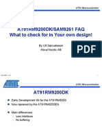At91-Arm9 Board Design Faq 2006-08-30
