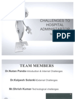 Challenges to Hospital Ad Mini Start Or