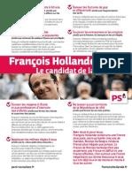 TRACT François Hollande 2012